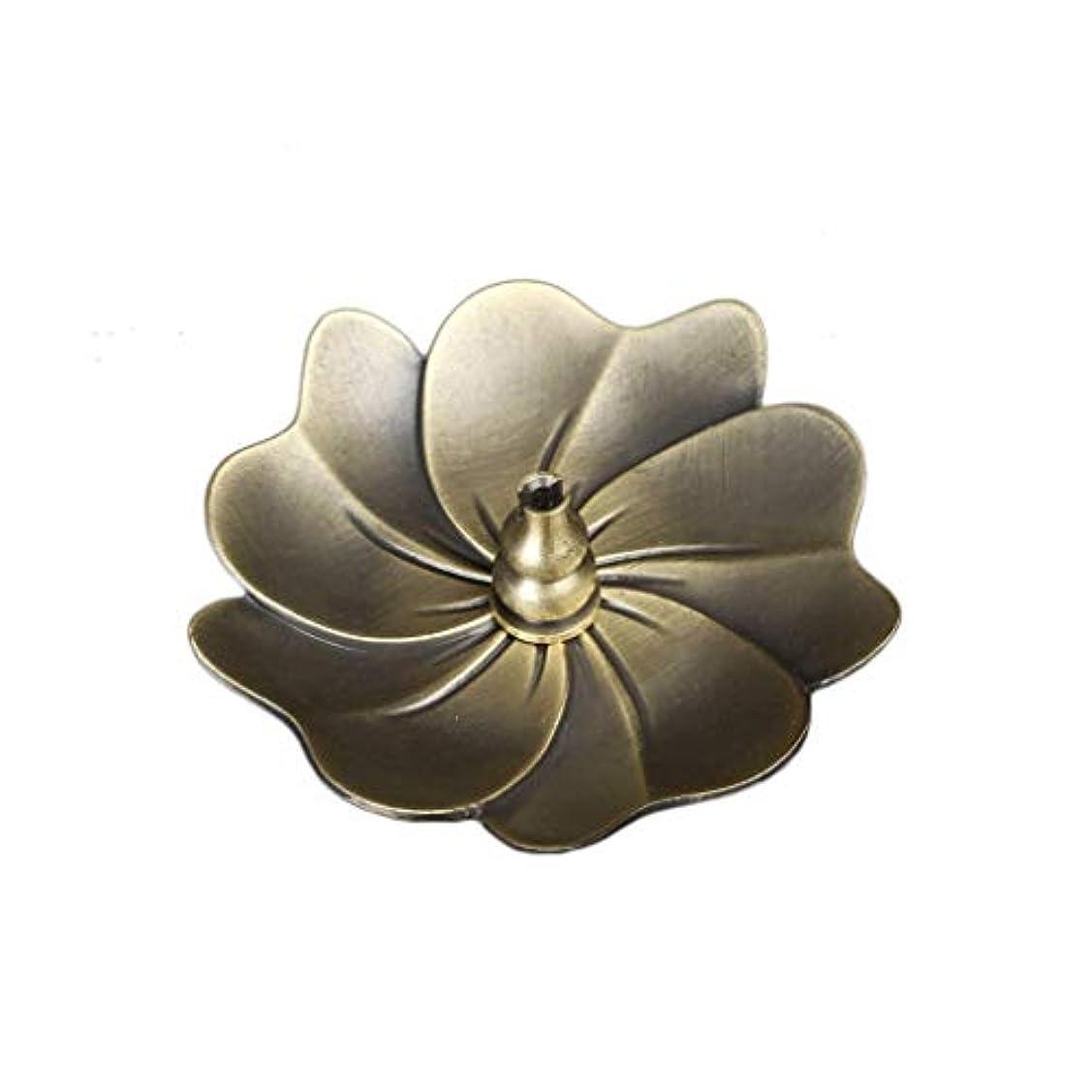 蓮の香バーナーヴィンテージブロンズ香スティックコイルホルダーアッシュキャッチャートレイプレートホーム仏教の装飾誕生日香ホルダー (Color : C)