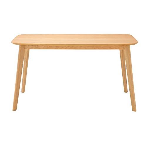 あずま工芸 ダイニングテーブル プレイン 135cm幅 TDT-1116