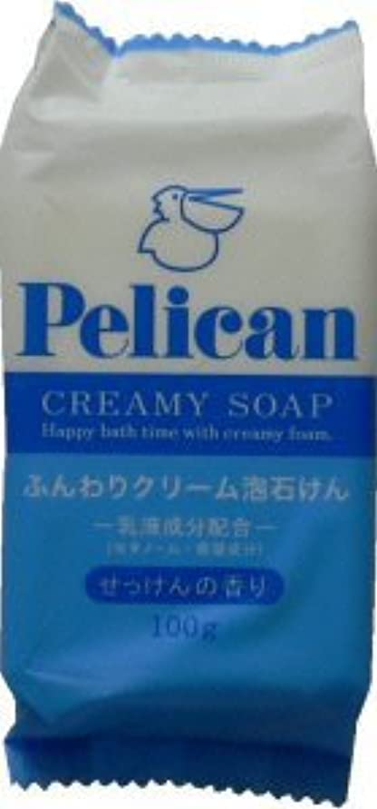 少数寄付する苦悩ペリカン石鹸 ペリカンクリーミィーソープ