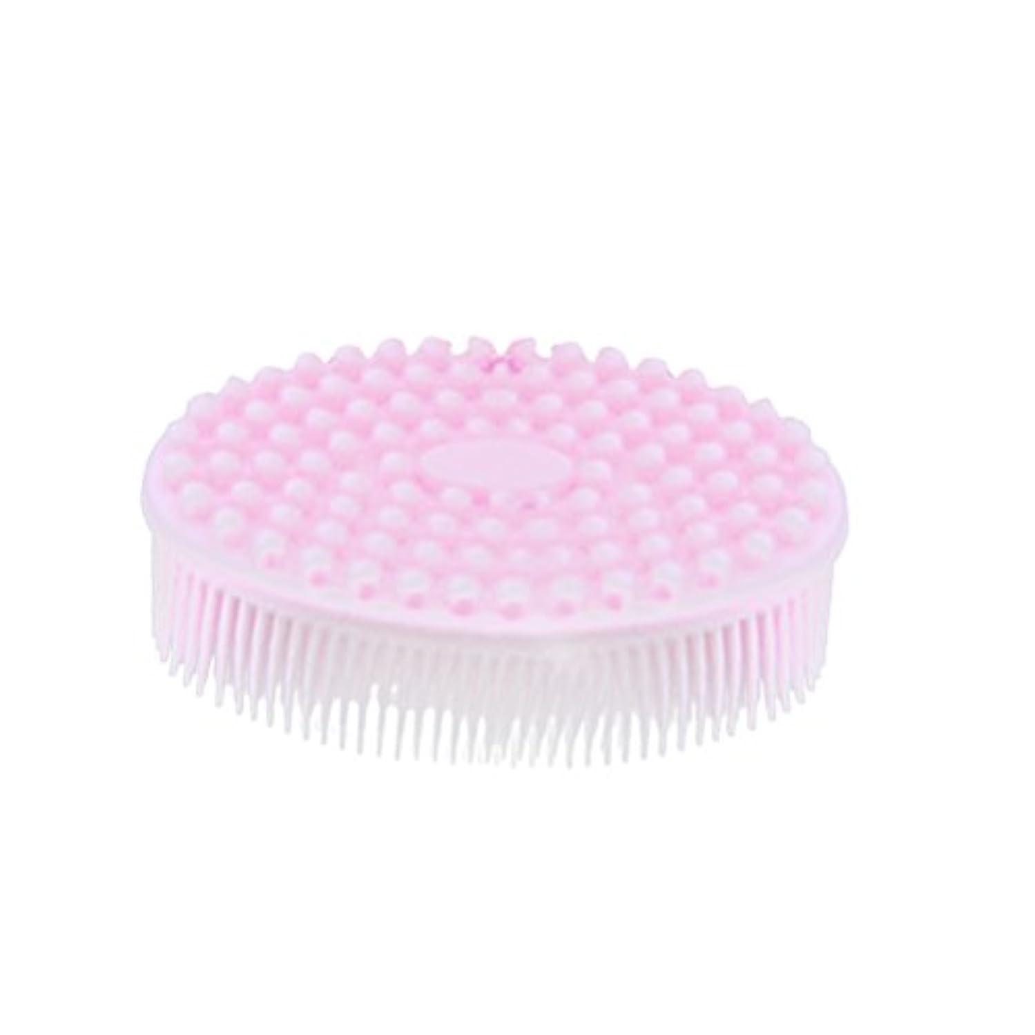 ハグ接続詞商標SUPVOX シャワーボディー用シリコンボディブラシ剥離ブラシマッサージブラシ(ピンク)