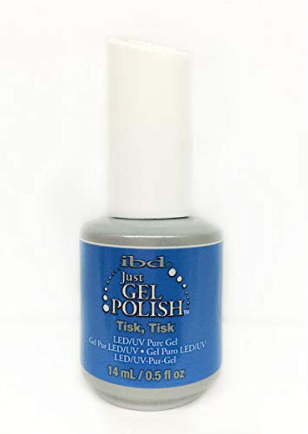 ペースト能力今晩ibd Just Gel Nail Polish - Tisk, Tisk - 14ml / 0.5oz