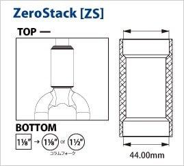 CANE CREEK ケーンクリーク 40. EC44 BOTTOM ZERO STACK 1.5