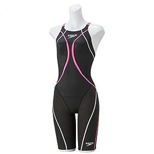 Speedo(スピード) 競泳水着 女の子 ジュニア ニースキン ファストスキン XT アクティブ ハイブリッド 2 FINA 承認モデル 140 BP(ブレイズピンク) SD38H02