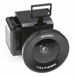 RoomClip商品情報 - Superheadz Demekin Fisheye 110 Film Camera by Powershovel [並行輸入品]