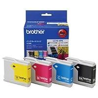 (まとめ) ブラザー BROTHER インクカートリッジ お徳用 4色 LC10-4PK 1箱(4個:各色1個) 〔×3セット〕