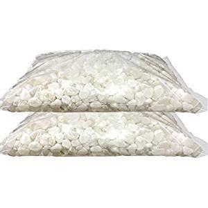 お墓の除草塩10kg大袋×2袋合計20kg 色規格外 粒Mサイズ(10〜15mm) 色選別後の規格外商品