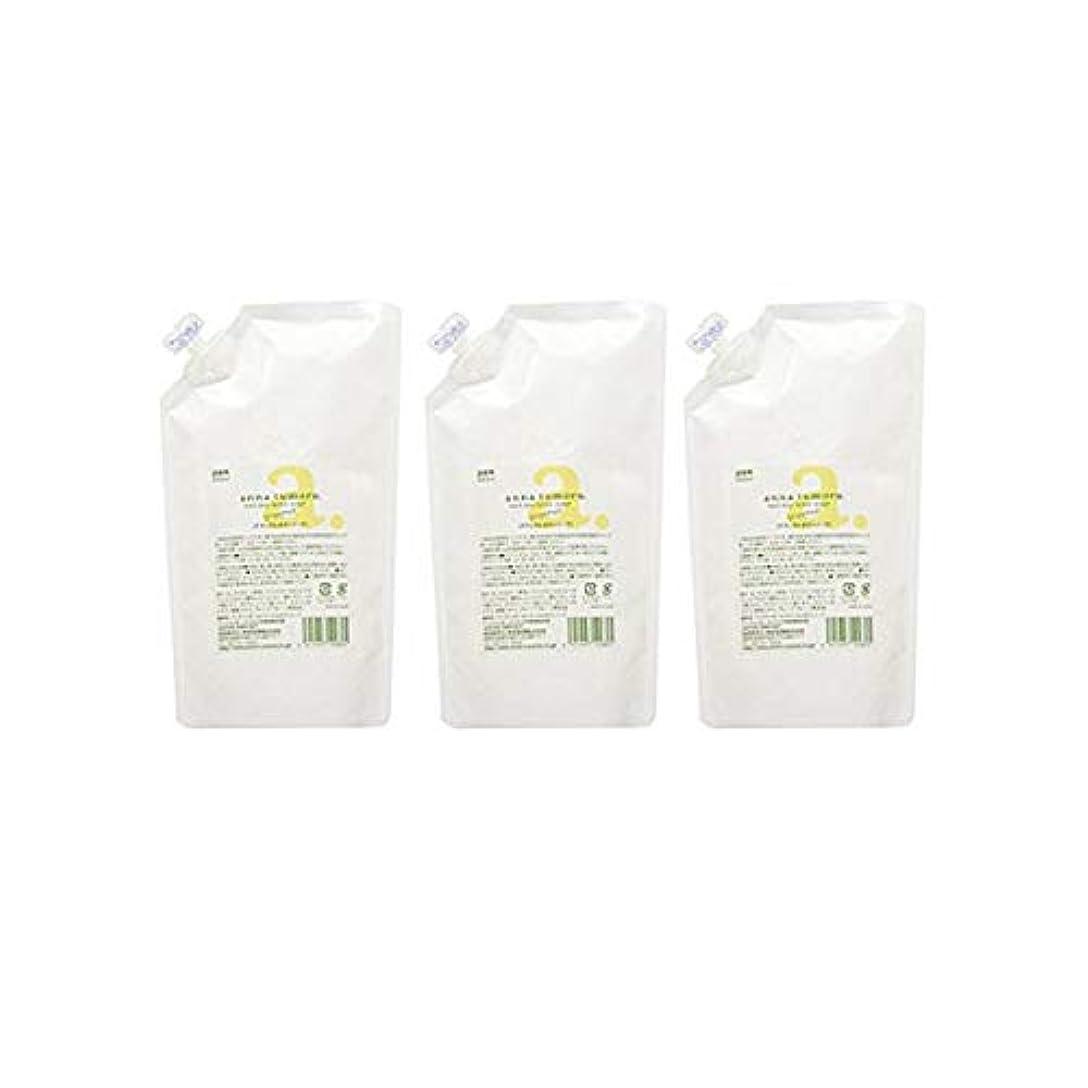 毒液セラー流アンナトゥモールナチュラルボディソープ詰替用3個セット (500ml×3個) 完全無添加ボディソープ