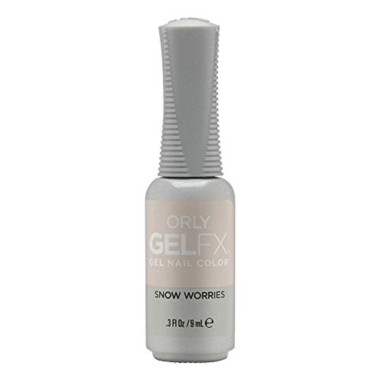 不毛のダイバー曇ったOrly Gel FX - Arctic Frost Winter 2019 Collection - Snow Worries - 0.3oz / 9ml