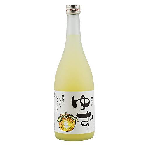 株 梅乃宿 ゆず酒 720ml 柚子酒リキュール 梅乃宿酒造