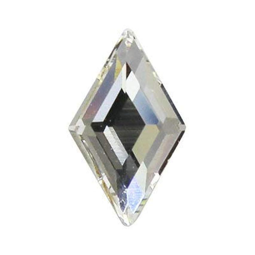 暗殺ビュッフェ十億SWAROVSKI クリスタル #2773 ダイヤモンド 9.9×5.9mm 2p