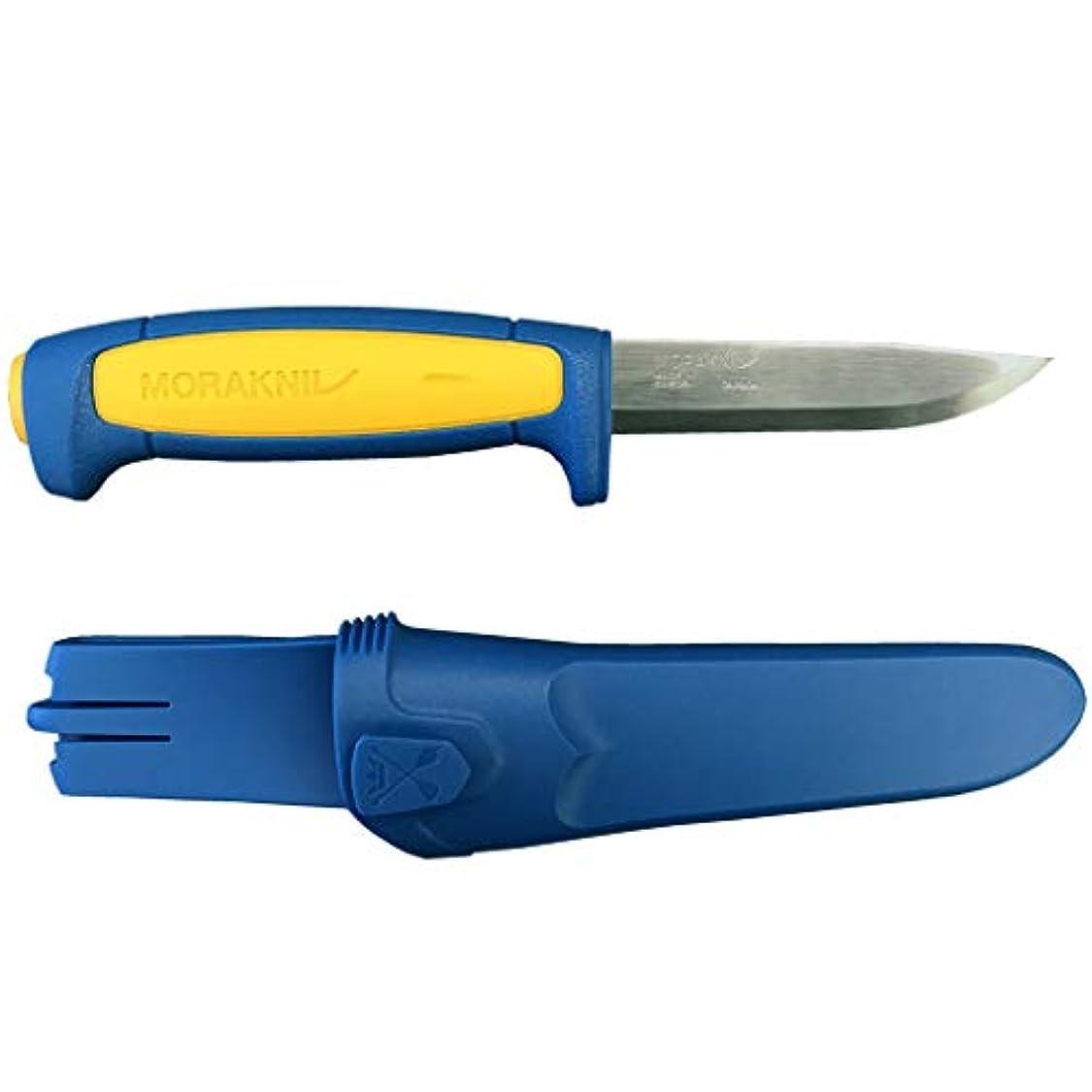 列車微弱駐地モーラ?ナイフ Moraknife BASIC 511 Blue/Yellow