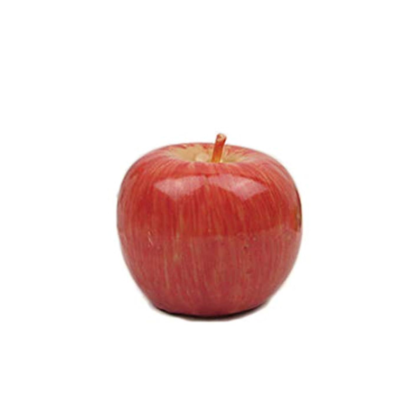マニュアルサミュエル露出度の高いアップルシェイプキャンドルクリスマスティーライトキャンドルクリスマスイブ誕生日パーティーデコレーション大サイズ