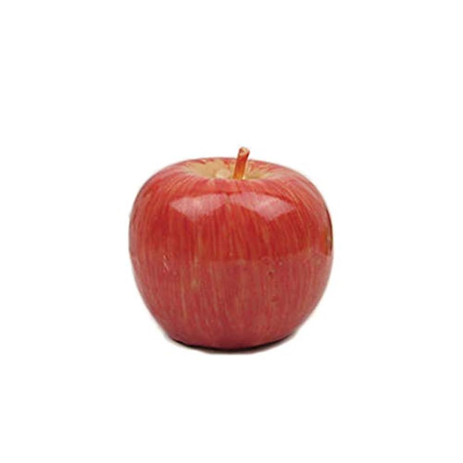 許容甲虫有名なアップルシェイプキャンドルクリスマスティーライトキャンドルクリスマスイブ誕生日パーティーデコレーション大サイズ