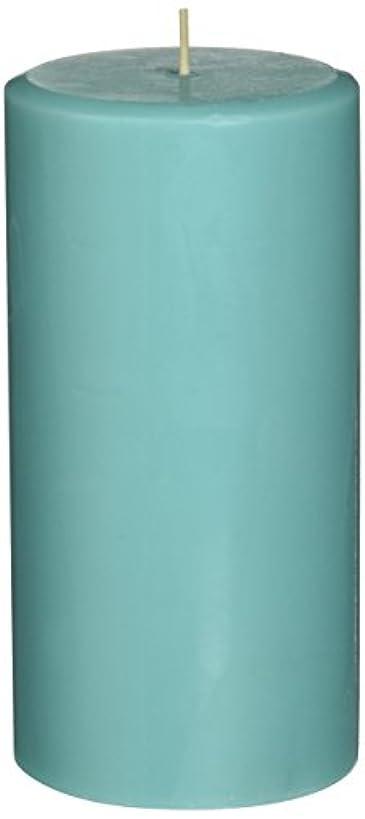 飛躍チューリップ世論調査Northern Lights Candles Watercress &ミントFragranceパレットPillar Candle、3 x 6