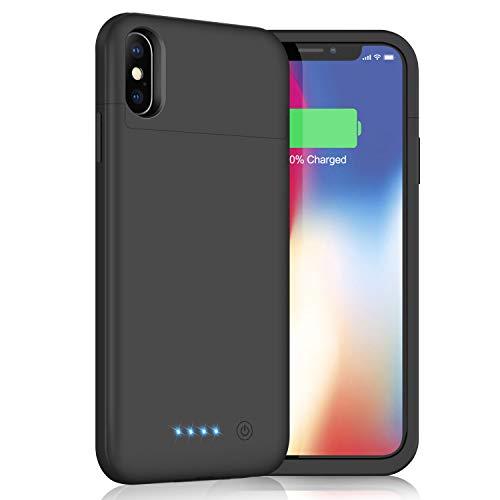 iPhoneX/XS/10 対応 バッテリー内蔵ケース52...