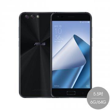 ASUS Zenfone 4 5.5 ZE554KL (SIMフリー 6GB 64GB 台湾版) (ブラック) 並行輸入品