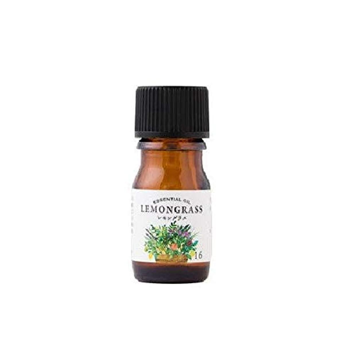 教科書麦芽輸血生活の木 エッセンシャルオイル レモングラス 5ml 08-020-1160