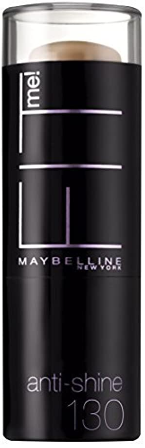 窓を洗う窒息させるに付けるMaybelline Fit Me 2-In-1 Anti-Shine 9 g Shade 130 by Maybelline