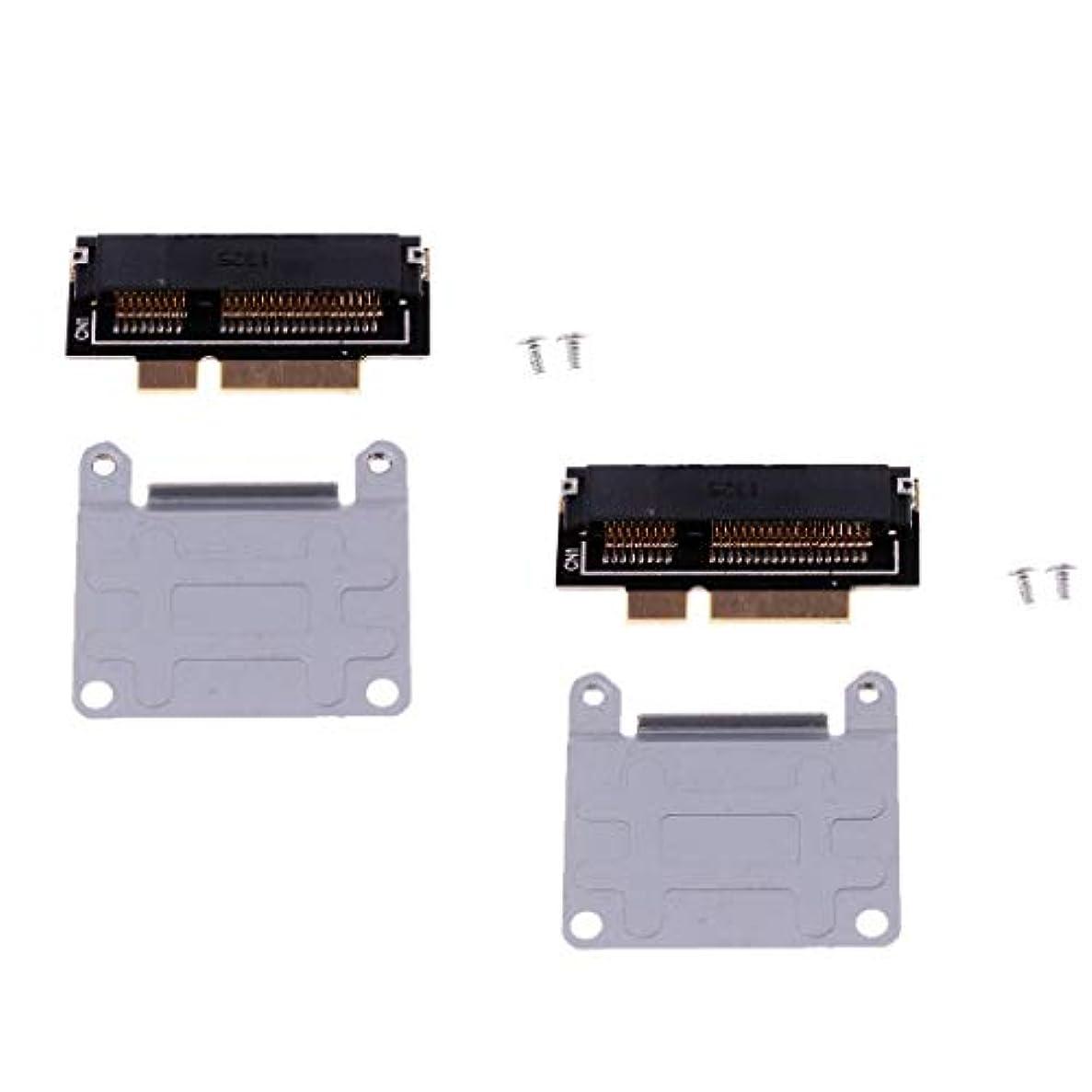 ミス城学習者P Prettyia MacBook Pro A1398用 mSATA SSD - 2012 SSD(7+17ピン) アダプタカード