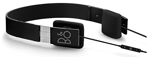 B&O PLAY バング&オルフセン Form 2i セミオープン型オンイヤー・ヘッドフォン(ヘッドホン) ブラック iPhone対応 [並行輸入品]