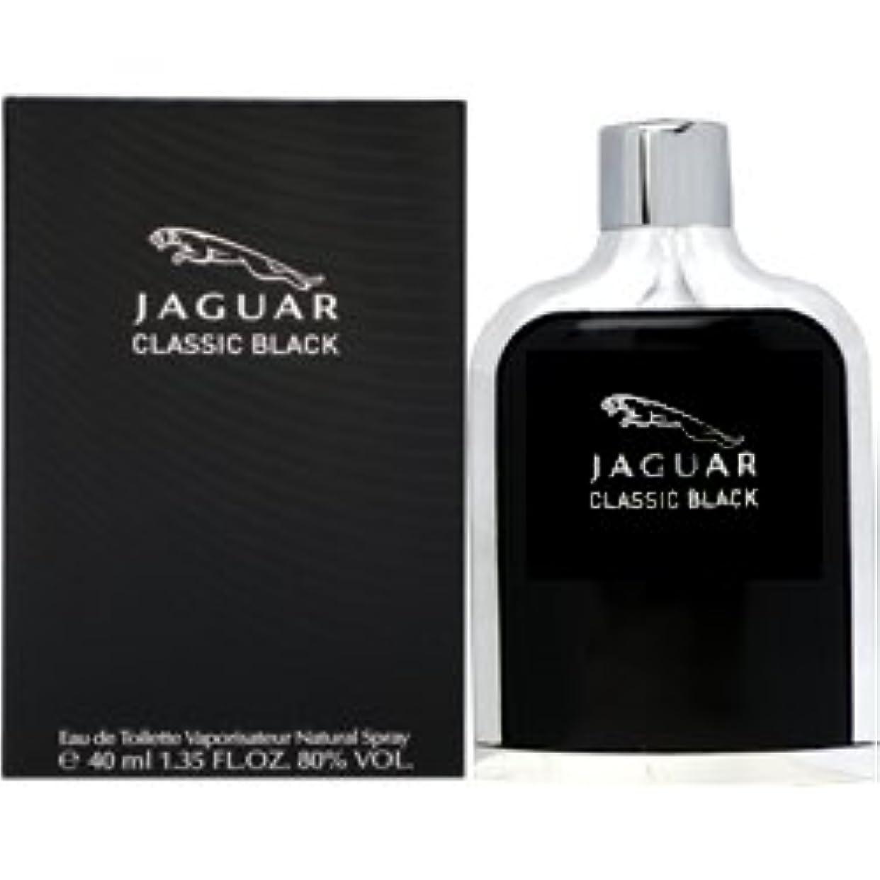 ジャンピングジャック密接にカナダジャガー ジャガー クラシック ブラック EDT SP 40ml [並行輸入品]