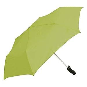 ウォーターフロント 折りたたみ傘 日傘/晴雨兼用 ライトグリーン 50cm 撮れる傘 UVカット90% TRIB350UH-RG