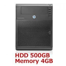 HP ProLiant MicroServer データー保存に 500GB マイクロサーバー N54L PROLIANT-500