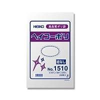 (業務用セット) ポリエチレン袋 薄口タイプ200枚入NO.10 27cmx18cm 【×20セット】 ds-1639130