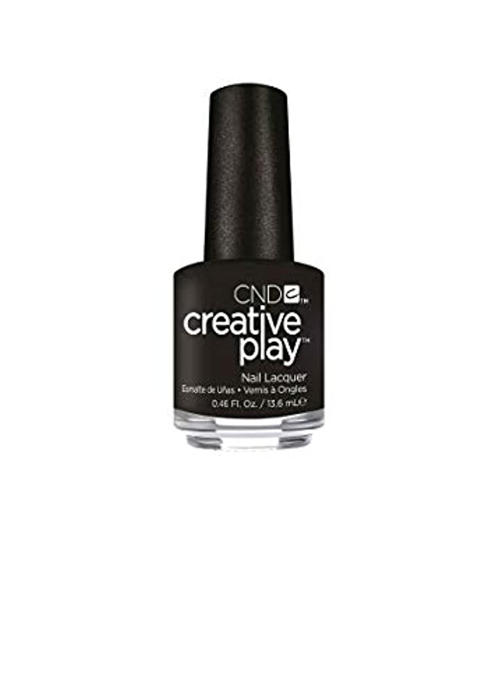 ハント阻害するリスナーCND Creative Play Lacquer - Black + Forth - 0.46oz / 13.6ml