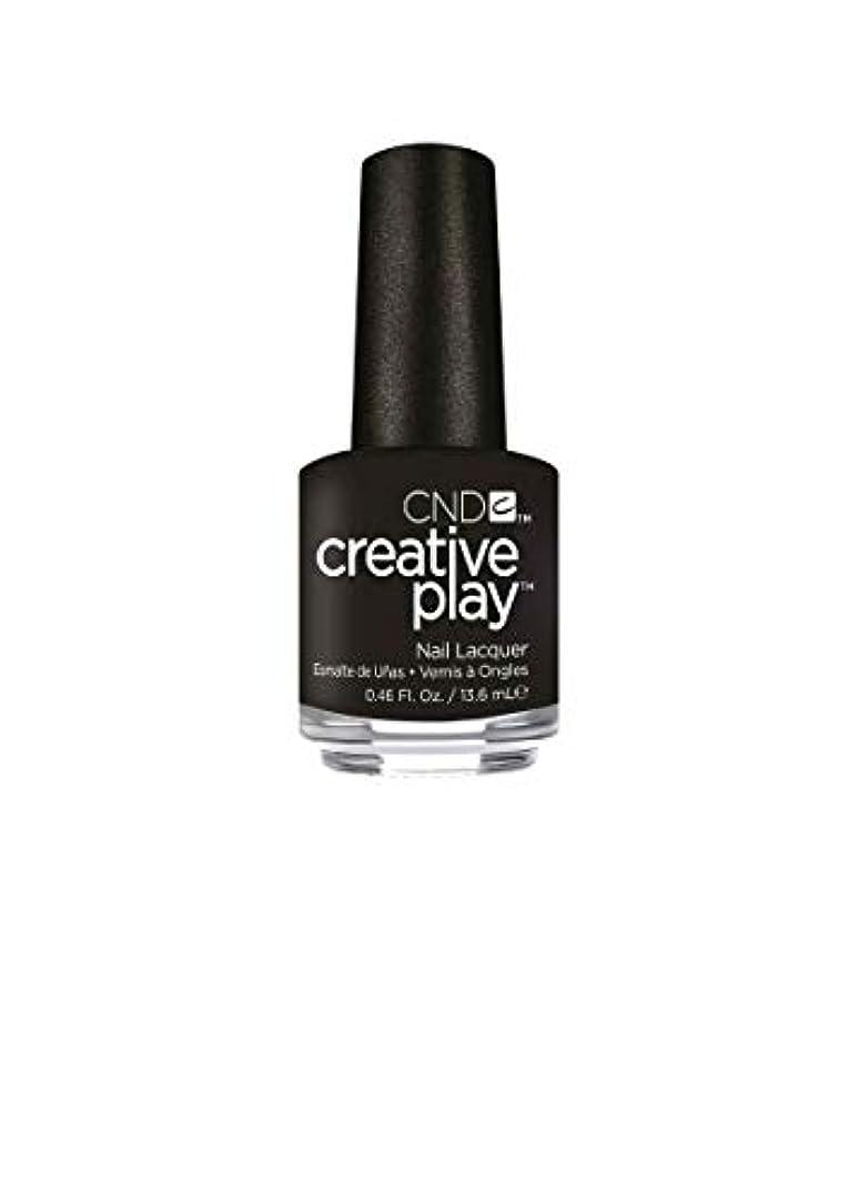 好きである同種の立場CND Creative Play Lacquer - Black + Forth - 0.46oz / 13.6ml