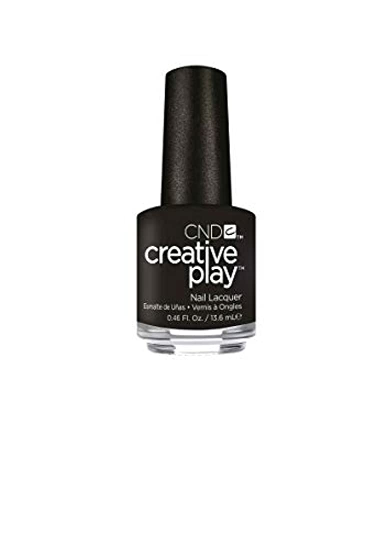 紫の記者ブレイズCND Creative Play Lacquer - Black + Forth - 0.46oz / 13.6ml