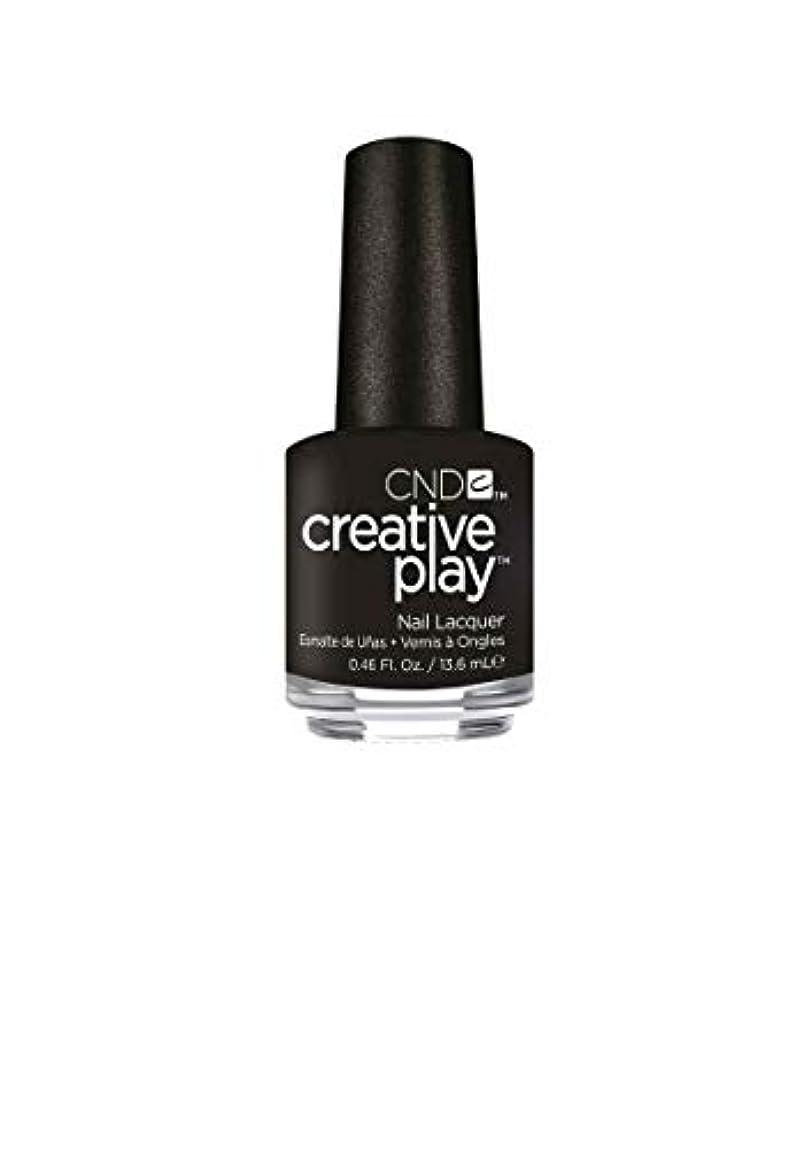 のホスト避難子CND Creative Play Lacquer - Black + Forth - 0.46oz / 13.6ml