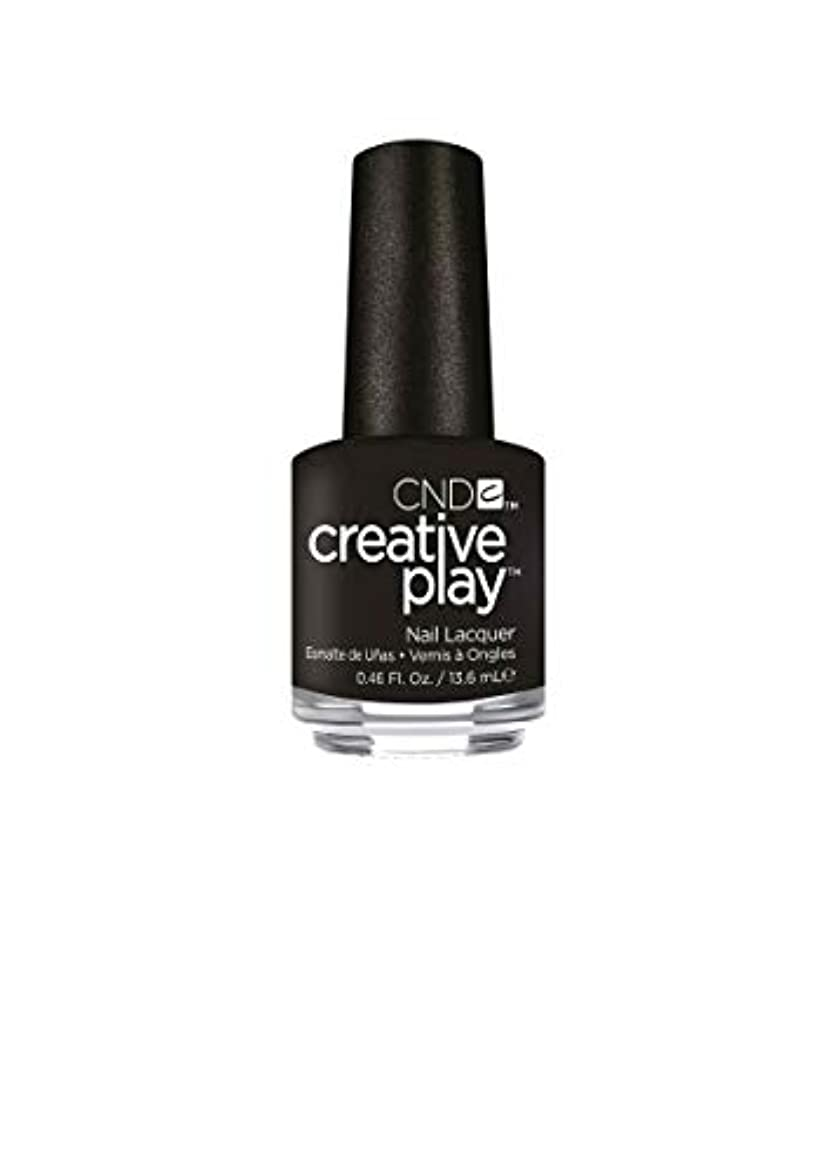 CND Creative Play Lacquer - Black + Forth - 0.46oz / 13.6ml