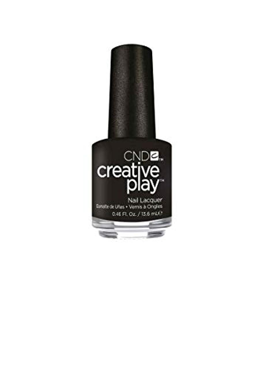 魅力的高度ラッドヤードキップリングCND Creative Play Lacquer - Black + Forth - 0.46oz / 13.6ml