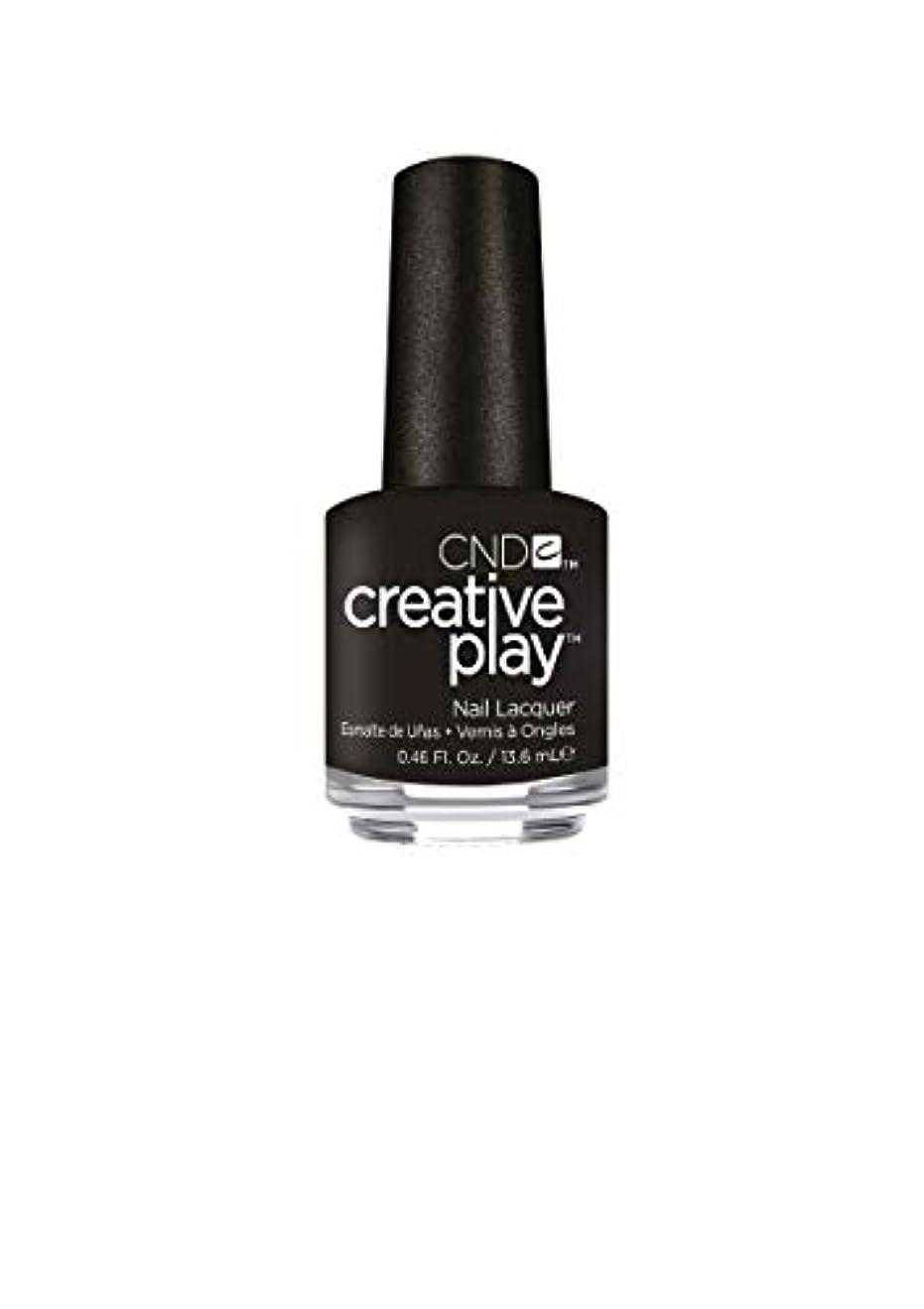 サイドボードアンドリューハリディ倉庫CND Creative Play Lacquer - Black + Forth - 0.46oz / 13.6ml