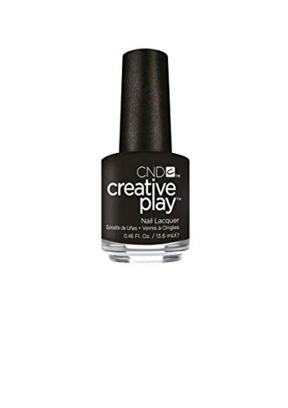 ユーモラス意識的激怒CND Creative Play Lacquer - Black + Forth - 0.46oz / 13.6ml