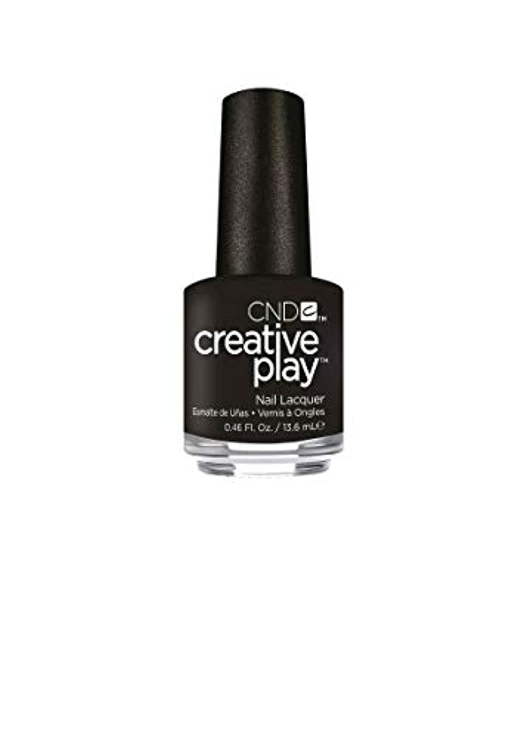 考古学フルーティー運動CND Creative Play Lacquer - Black + Forth - 0.46oz / 13.6ml