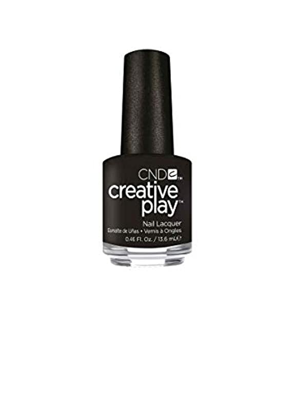 レール美人ハードウェアCND Creative Play Lacquer - Black + Forth - 0.46oz / 13.6ml