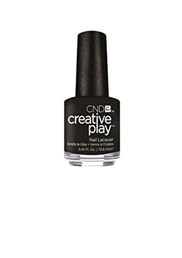 コカイン可愛い苦CND Creative Play Lacquer - Black + Forth - 0.46oz / 13.6ml