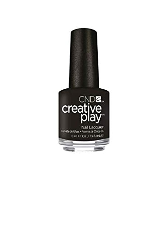 国民過敏なスキルCND Creative Play Lacquer - Black + Forth - 0.46oz / 13.6ml