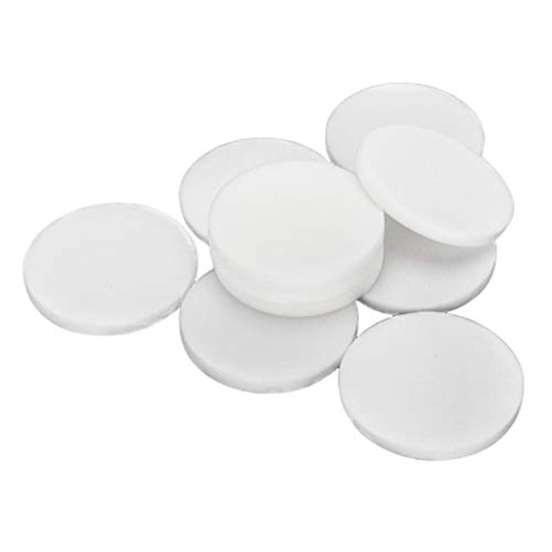 非効率的なシュートオーガニック10枚 使い捨て フェイスクリーニングパフ 洗顔 化粧 メイクアップパフ 2サイズ選べ - 大