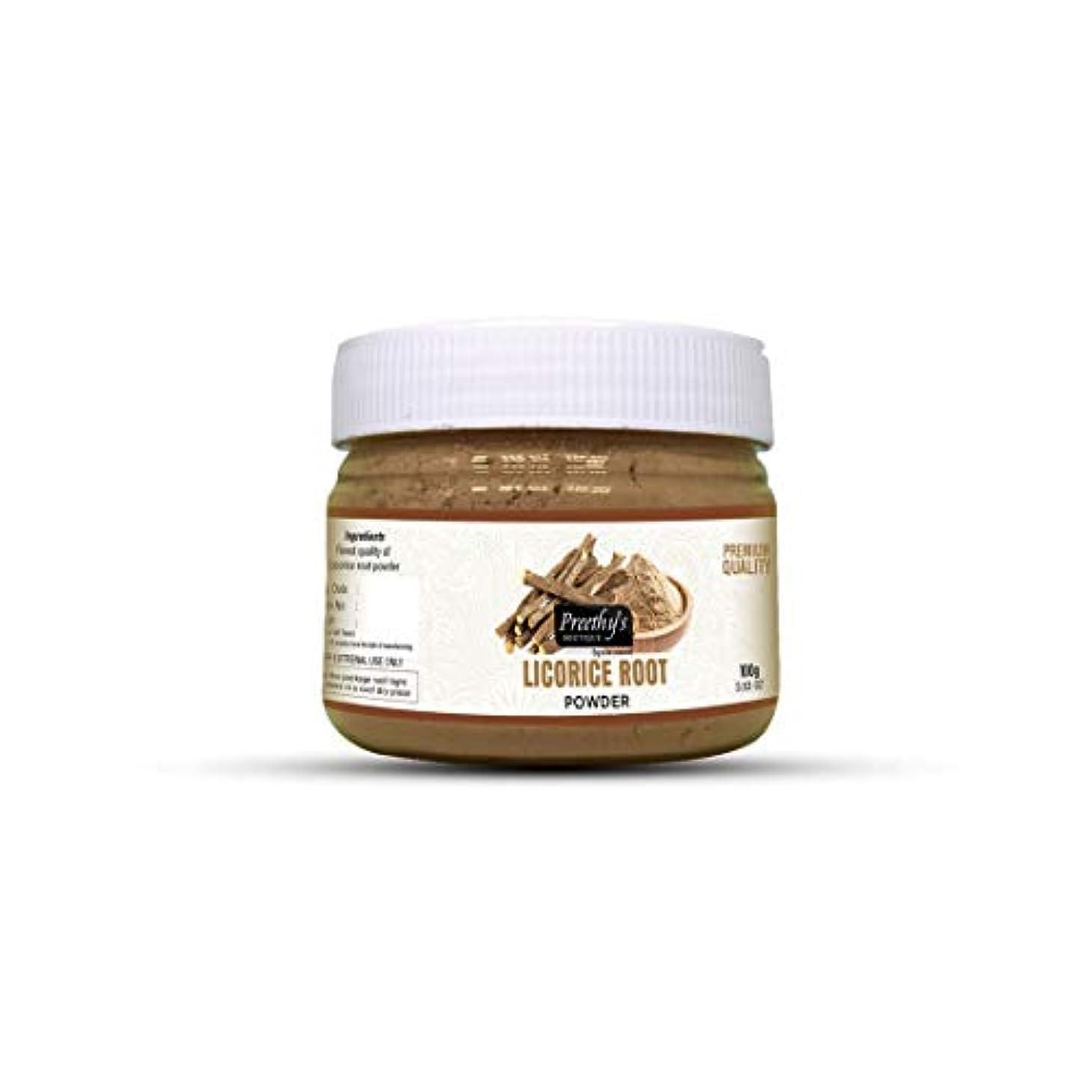 サーバント銛芽Licorice (Mulethi) Powder For Skin Whitening 100 Grams - Natural Remedies for Skin disorders - Helps to diminish and lighten dark spots, age spots, blackheads, whiteheads - 100グラムを白くする肌用の甘草(Mulethi)パウダー-スキンブライトニング-ダークスポット、エイジスポット、にきび、ホワイトヘッドを減らして明るくするのに役立ちます