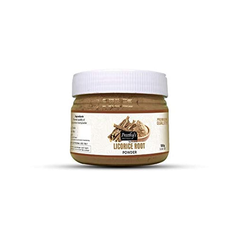 うぬぼれたピジンシアーLicorice (Mulethi) Powder For Skin Whitening 100 Grams - Natural Remedies for Skin disorders - Helps to diminish...