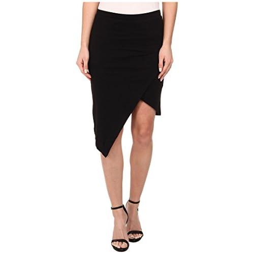 [オルタナティブ] Alternative レディース Modal Asymmetrical Skirt スカート Black MD [並行輸入品]