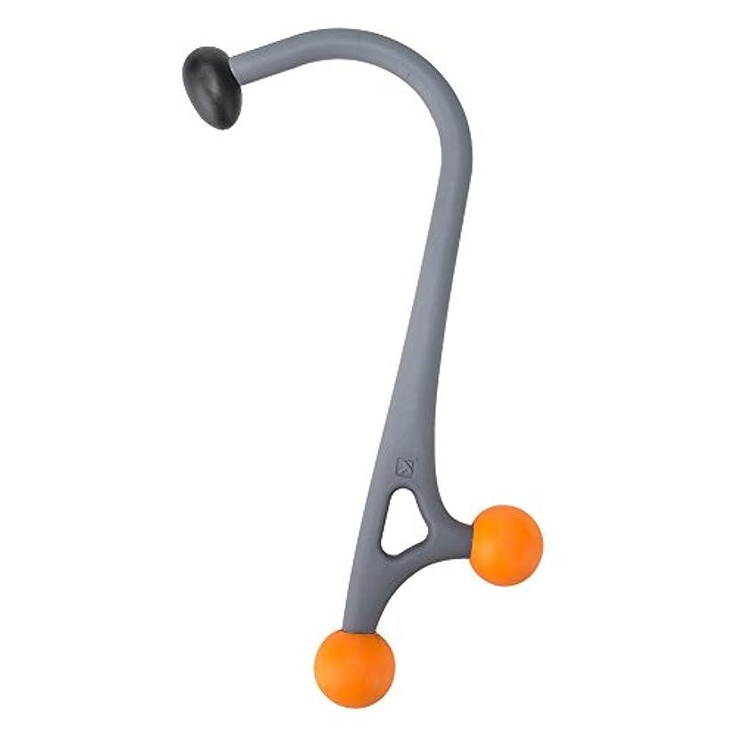 潜在的なあいまいなコミットメント[ トリガーポイント ] Trigger Point マッサージ アキュカーブケイン マッサージスティック ツボ押し HANDHELDS Acucurve Cane 04429 グレー/オレンジ [並行輸入品]