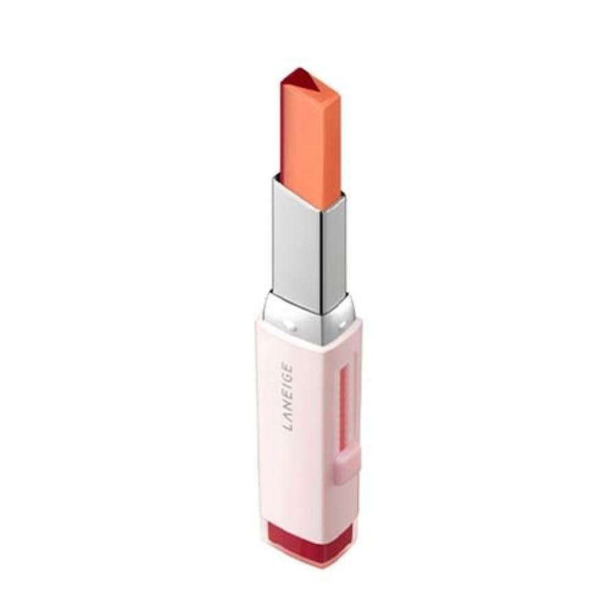パケット凝視閉じ込める[New] LANEIGE Two Tone Tint Lip Bar 2g/ラネージュ ツー トーン ティント リップ バー 2g (#05 Apple Jello) [並行輸入品]