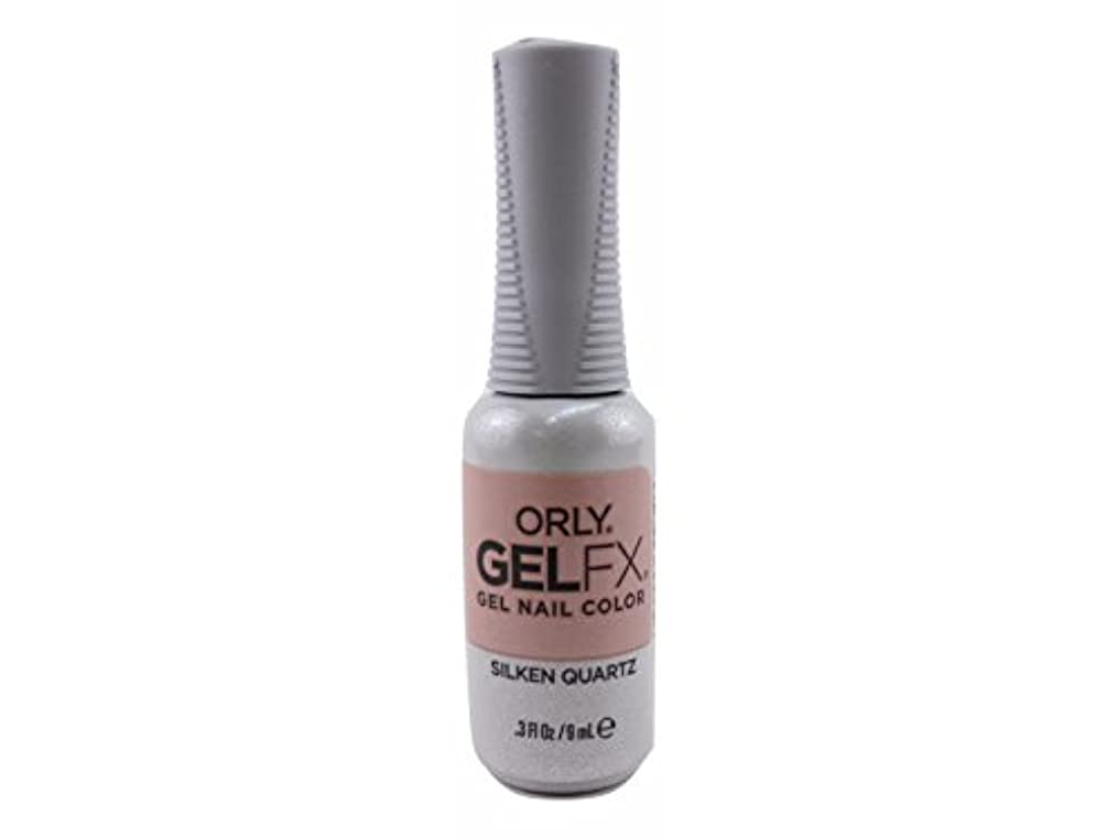 ダム吹雪やろうOrly Gel FX - Velvet Dream Collection Fall 2017 - Silken Quartz - 0.3 oz / 9 mL