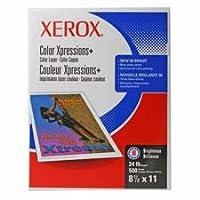 """Xerox製品–コピー/プリンタ用紙、98GE / 114ISO、24lb、11"""" x17"""" 500/ RM、We–Sold As 1Pk–デジタルカラーXpressionsプラス用紙delivers greatイメージ品質のコピーのすべての色と印刷。プレミアムコーティングなしデジタル印刷用紙は滑らかな表面と高不透明度。デジタルカラーアプリケーションに最適化された。Intended higher-end Professionalの色などのアプリケーションPosters andパンフレット。カラーXpressions +用紙Makesテキストとグラフィックドキュメント読みやすくなります。24lb。"""