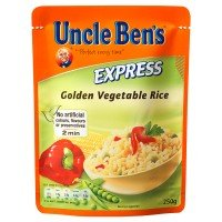 UNCLE BEN'Sツョ Express Golden Vegetable Rice 6 x 250g