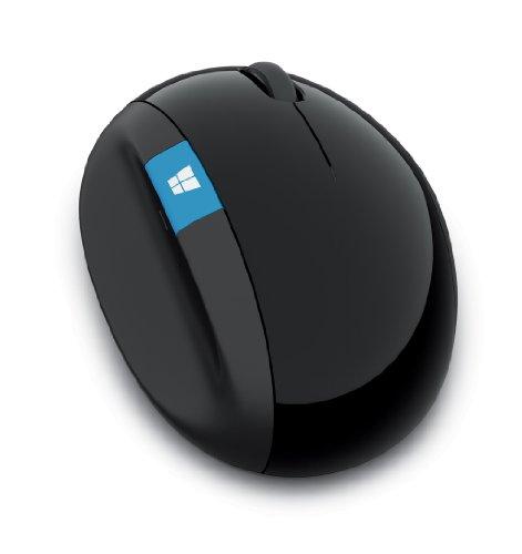 マイクロソフト マウス ワイヤレス/5ボタン/人間工学デザイン ブラック Sculpt Ergonomic Mouse for Business 5LV-00004